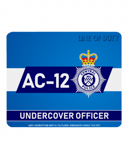 Line of Duty AC-12 Undercover Officer Central Police PC Laptop ComputerMouse Mat